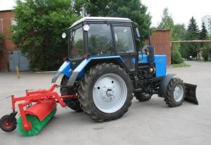 Щетка подметальная (дорожная) для трактора МТЗ производства Беларусь