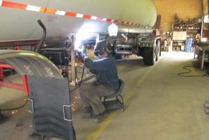 Техническое обслуживание и ремонт прицепов и полуприцепов – цистерн