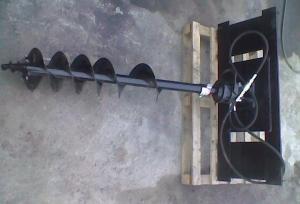 Гидробур, гидровращатель, ямобур, шнековый бур для мини-экскаватора, мини-погрузчика, экскаватора – погрузчика, телескопического манипулятора
