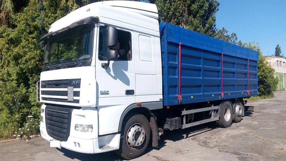 Автоцистерна для перевозки природного газа (газовоз)
