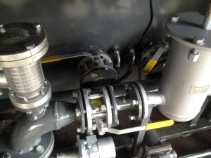 Ремонт бензовоза, восстановление функции слива-налива