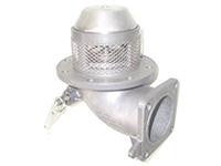 """Механический донный клапан 4"""" с фильтром из нержавеющей стали"""