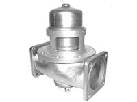 """Пневматический донный клапан 4"""" с компенсацией давления, двухсторонний с фильтром из нержавеющей стали"""