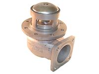 """Пневматический донный клапан 3"""" с фильтром из нержавеющей стали"""
