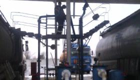 Стояки налива для нефтебаз